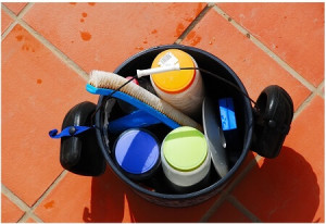 pool equipment and chemicals